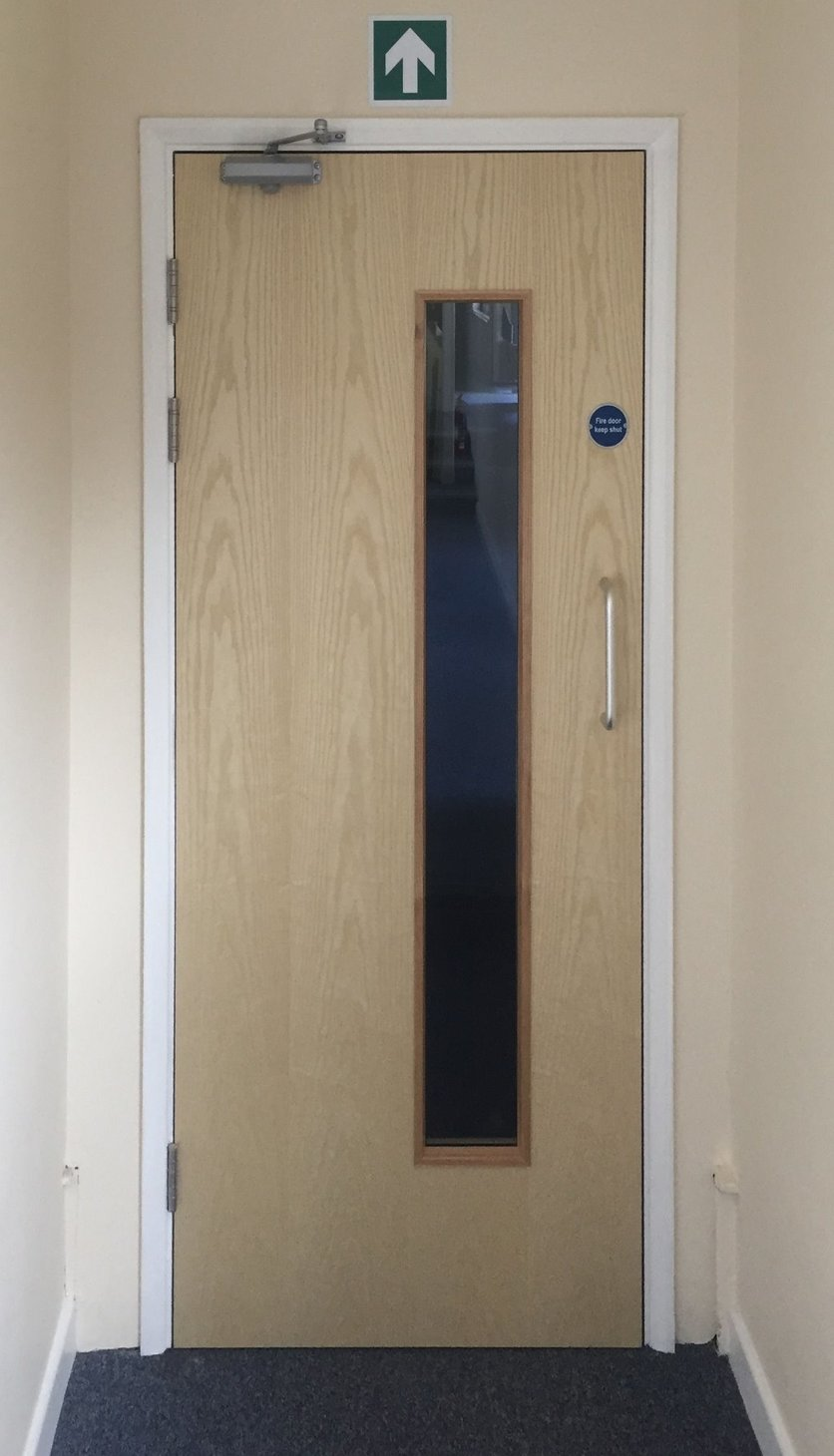 the latest 54a28 5efe5 Commercial fire door installation upgrade FD30, FD60 North Devon
