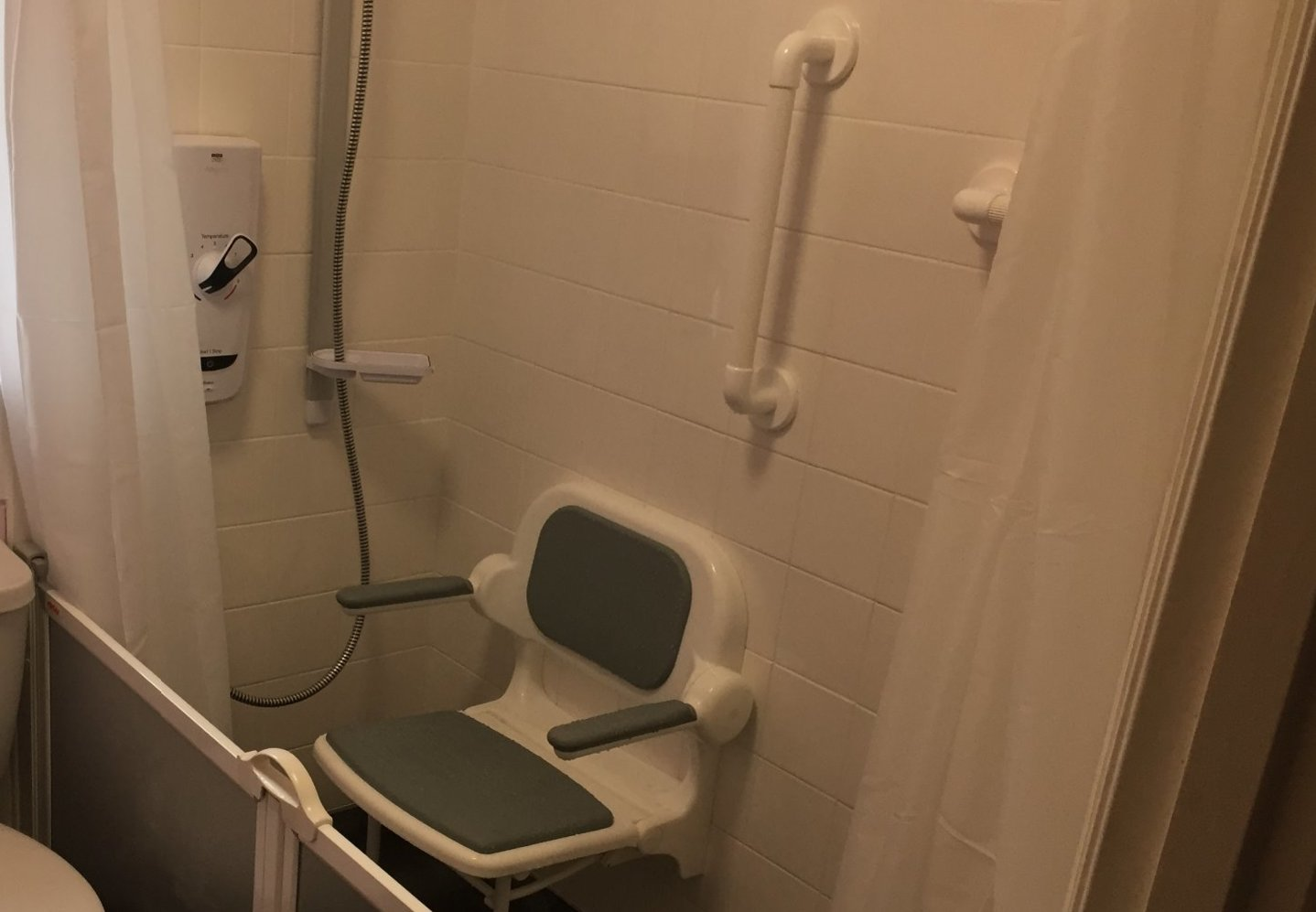 Disabled easy access shower room adaption Barnstaple North Devon