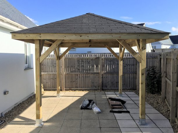 Gazebo design and build in Barnstaple