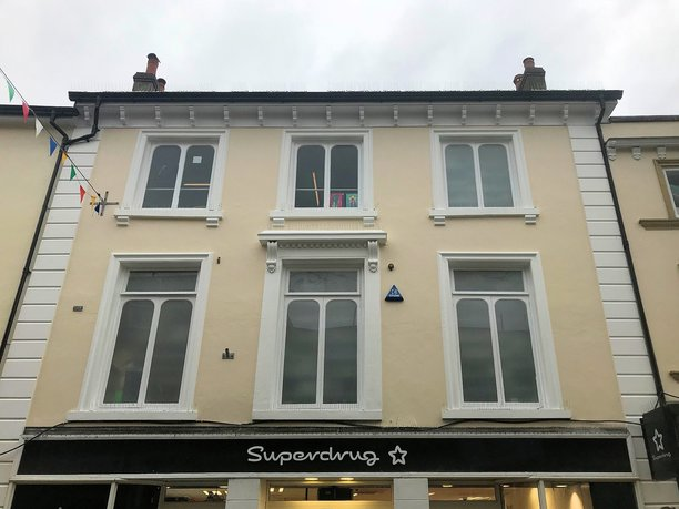 Barnstaple High Street painting and Decoration completed