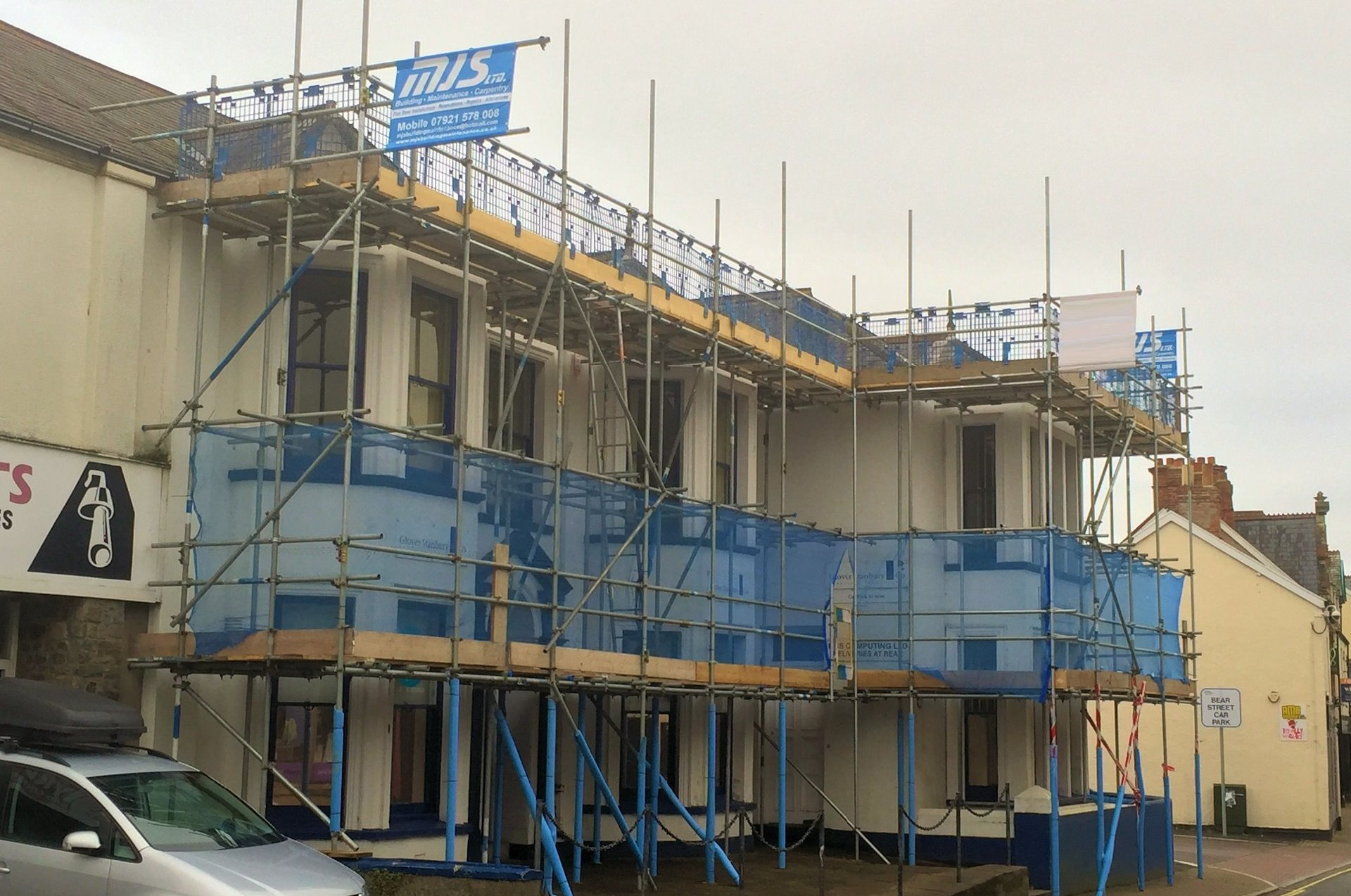 External Redecoration works Barnstaple North Devon from our gallery