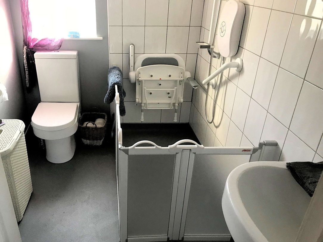 Bathroom change of use after conversion, here in Barnstaple North Devon