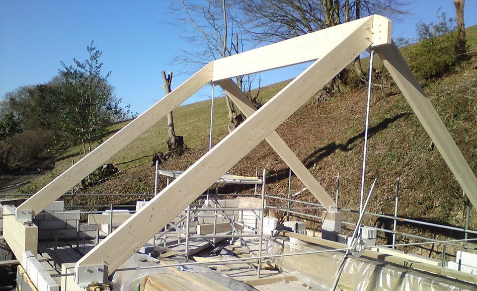 A new build by North Devon construction contractor