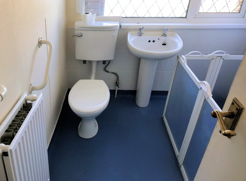New bathroom suite fitted