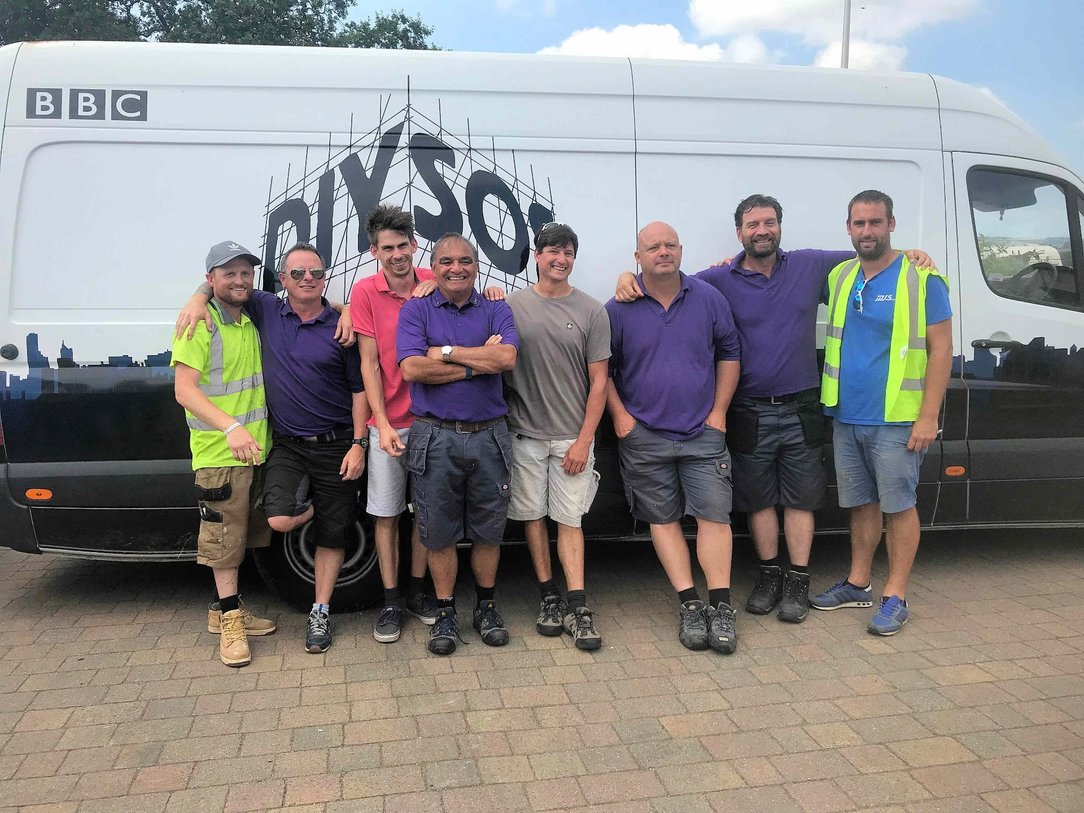 DIY SOS in North Devon 2019