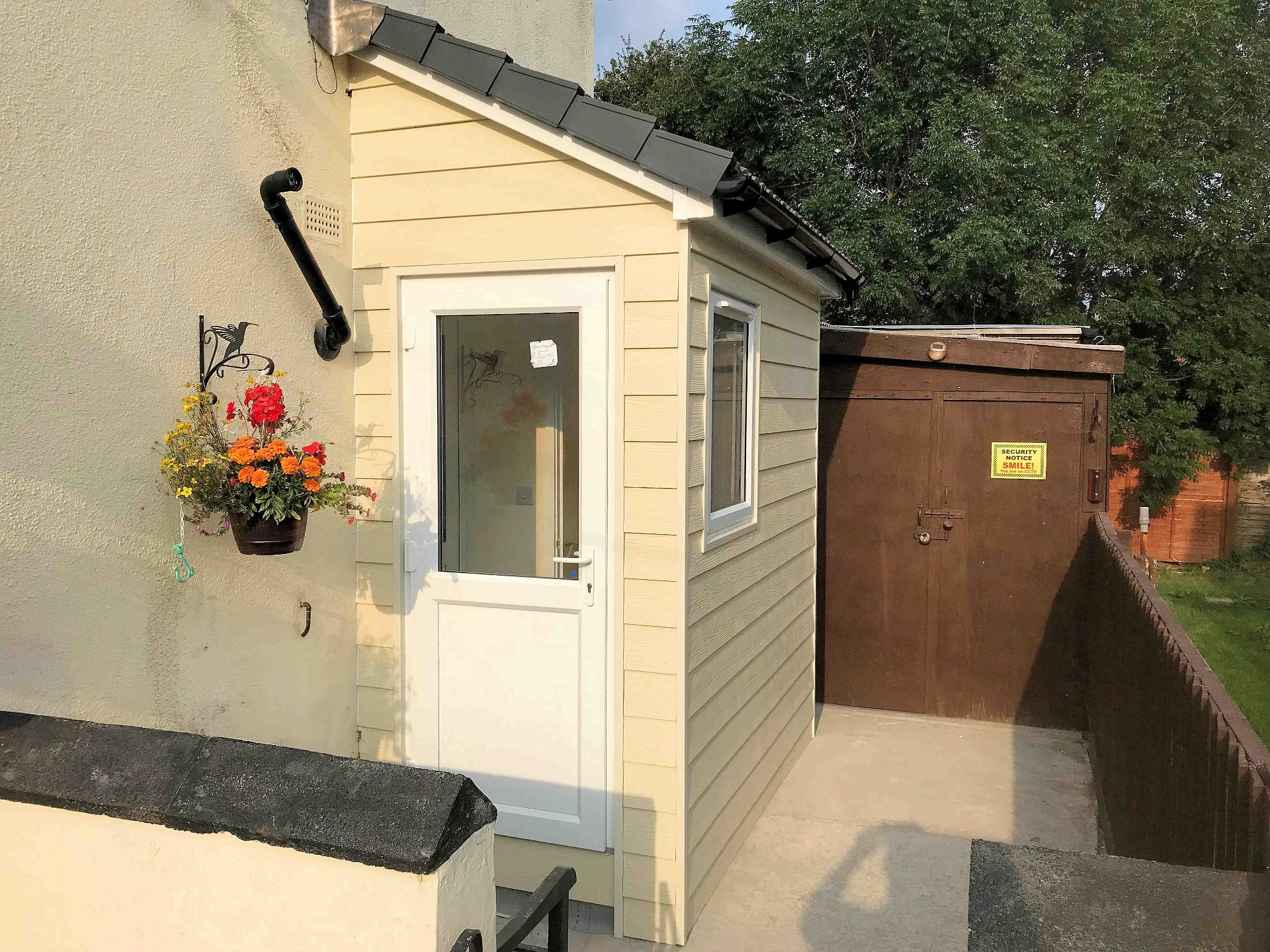 Cloakroom extension completed in North Devon