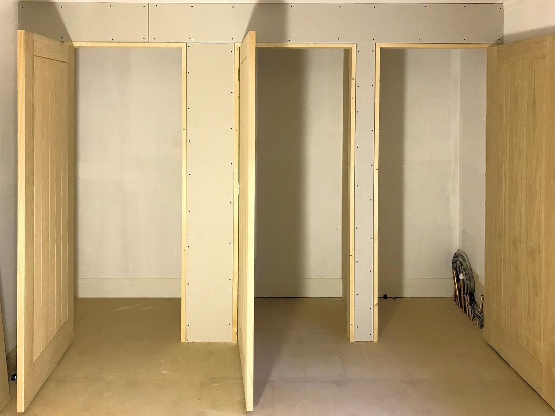 Oak Doors and Walk-In Wardrobes fabrication and installation Barnstaple North Devon